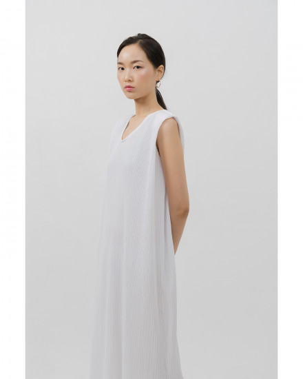 Kahlo Dress - White