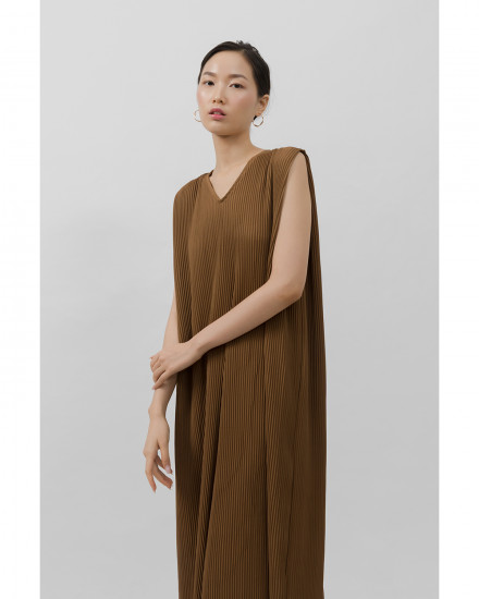 Kahlo Dress - Walnut