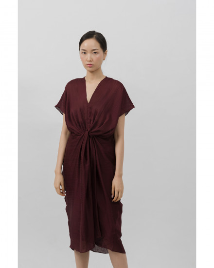 Reverie Dress - Burgundy