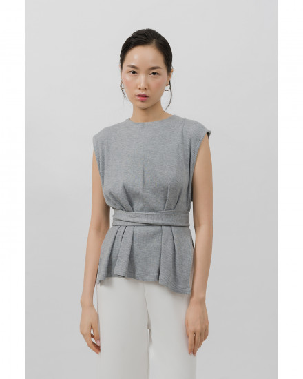 Liam Top - Light Grey