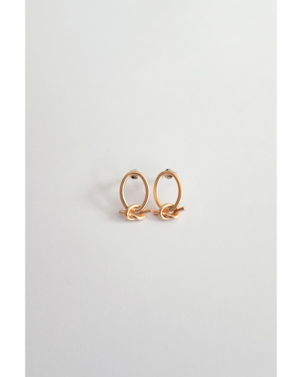Oval Knot - Gold