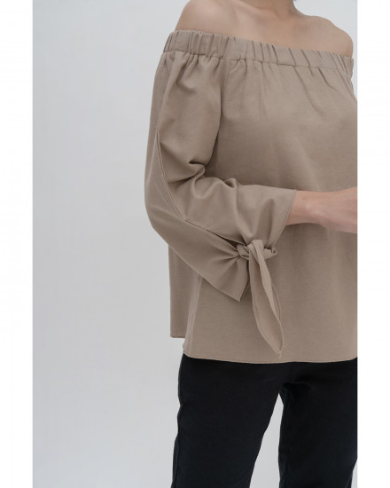 Vie Top - Sand Plus Size