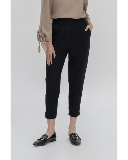 Souris Pants - Black Plus Size