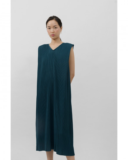 Kahlo Dress - Emerald