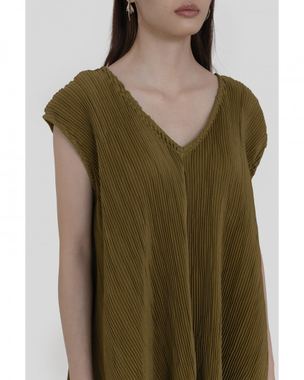 Harlow Top - Olive (PRE-ORDER, READY 28 AUGUST 2020)