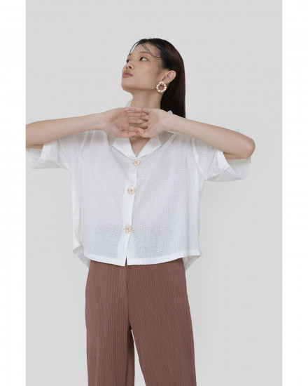 Simone Shirt - White