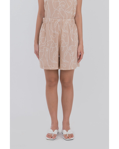 Ruby Shorts - Cream