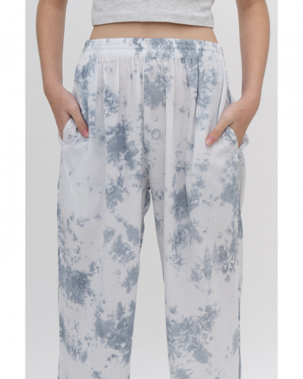 Vince Pants - Acid Blue Tie Dye