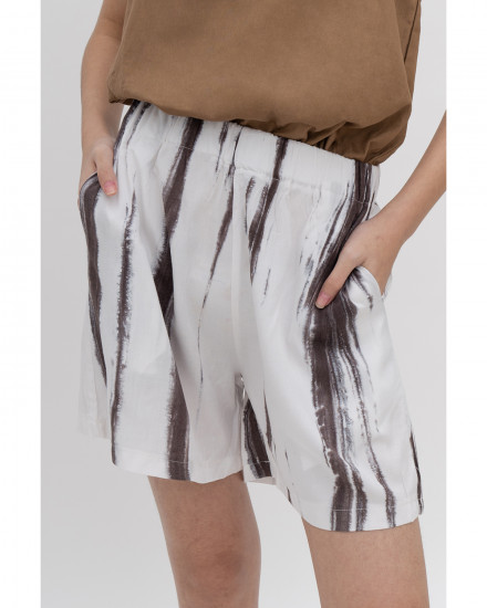 Ruby Shorts - Brown Tie Dye (PRE-ORDER, READY 21 SEPTEMBER 2020)