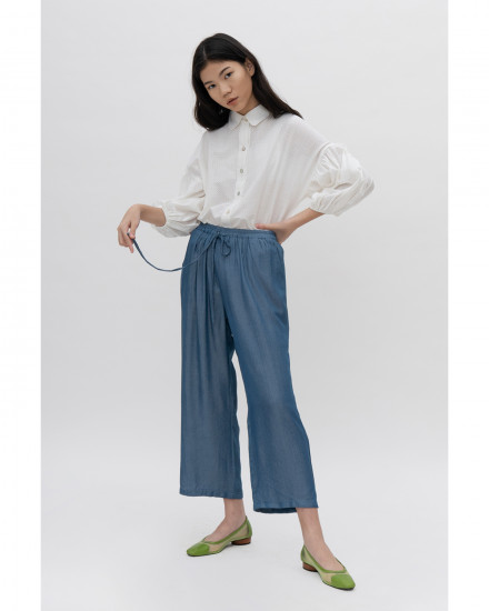 Ace Relaxed Pants - Denim