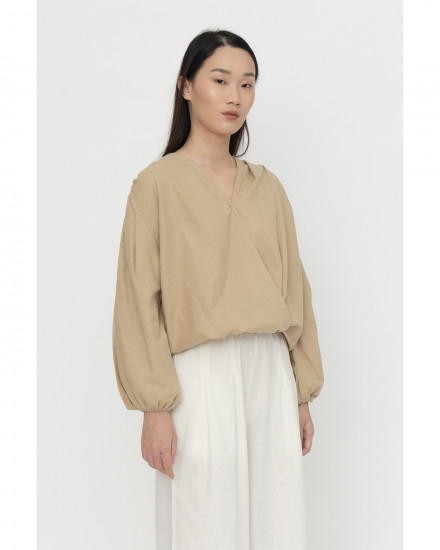 Edge Top - Beige