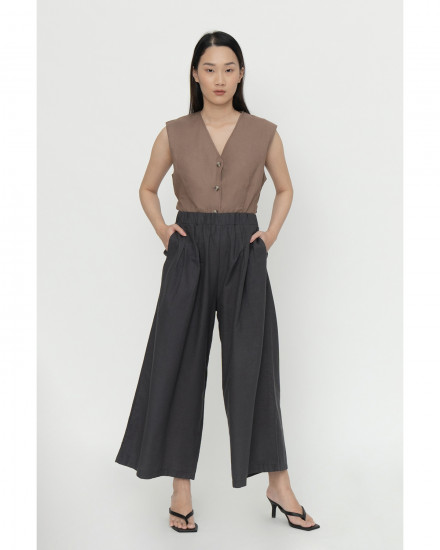 Whimsy Skirt Pants - Charcoal