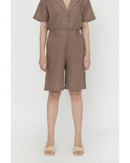 Winslow Bermuda Shorts - Coffee