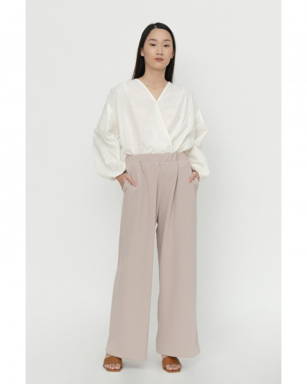 Jill Knit Pants - Cream