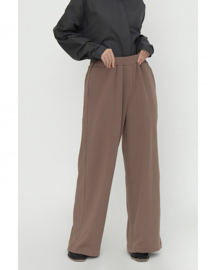 Jill Knit Pants - Coffee