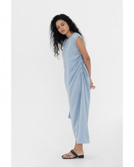 Genevieve Dress - Chalk Blue