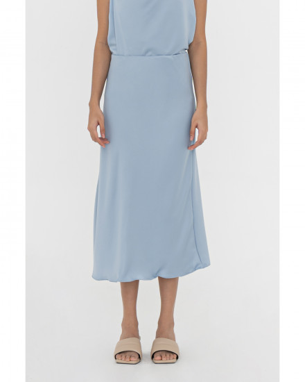 Noel Skirt - Chalk Blue