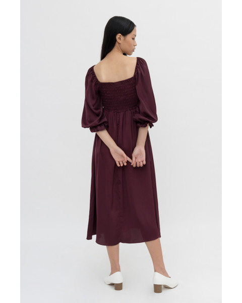 Pippa Dress - Burgundy