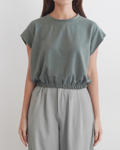 Meg Top - Jade Green