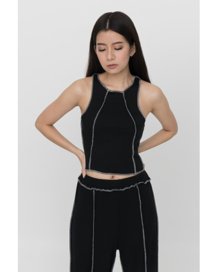 Norm Tank Top - Black (PRE-ORDER, READY 15 WORKING DAYS)