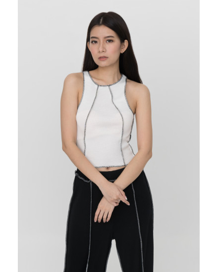 Norm Tank Top - White (PRE-ORDER, READY 15 WORKING DAYS)